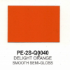 Polyester Delight Orange Smooth Semi-Gloss