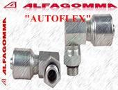 Fitting 90? Compact SAE Male Swivel O-Ring Boss:Hydraulic Fitting Hose:ALFAGOMMA